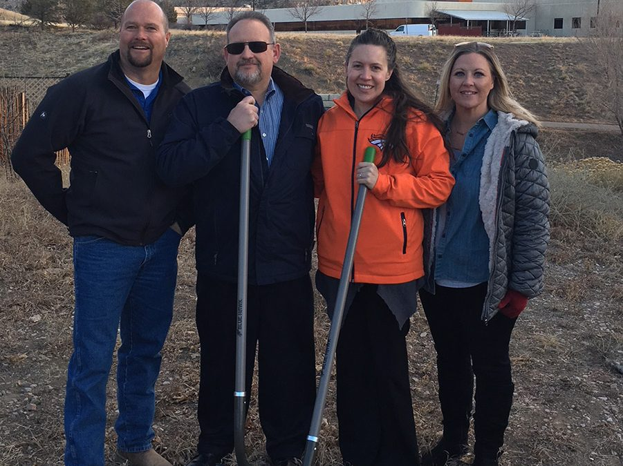 Groundbreaking in Colorado Springs near Kissing Camels Golf Course