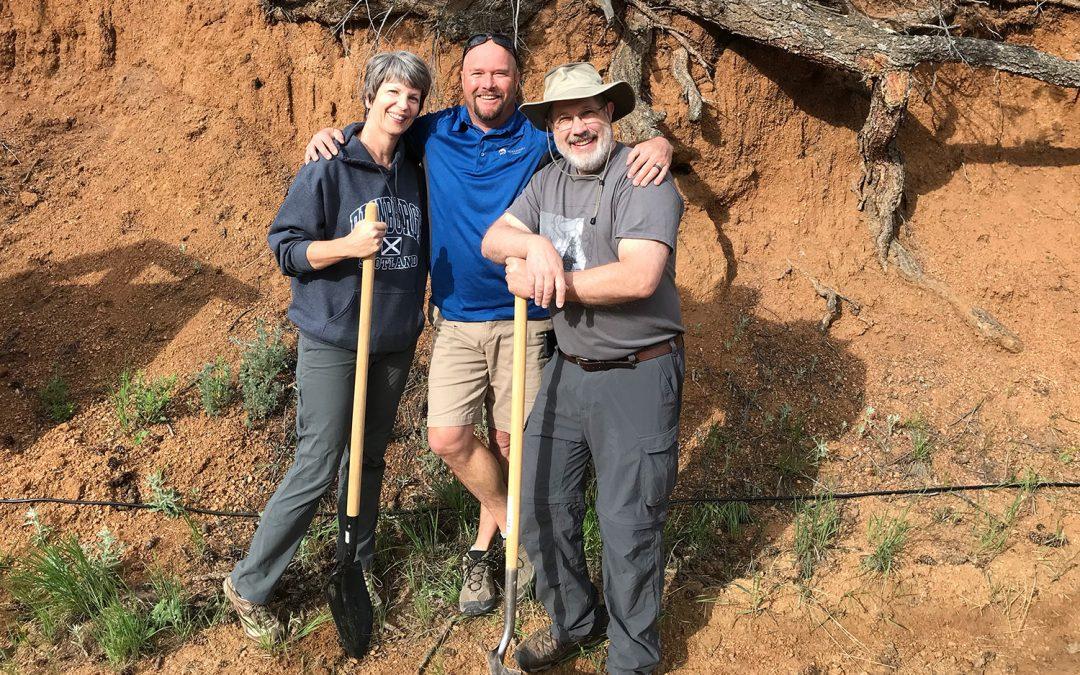 New Home Groundbreaking in Green Mountain Falls